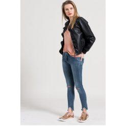 Haily's - Jeansy. Niebieskie jeansy damskie rurki Haily's, z bawełny. W wyprzedaży za 79,90 zł.