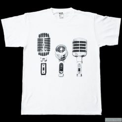 Bluzki, topy, tuniki: Koszulka T-3 MIKROFONY