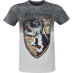 T-shirty męskie z nadrukiem: Harry Potter Gryffindor T-Shirt szary/szary melanż