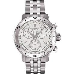 PROMOCJA ZEGAREK TISSOT T-SPORT T067.417.11.031.01. Szare zegarki męskie marki TISSOT, ze stali. W wyprzedaży za 1804,00 zł.