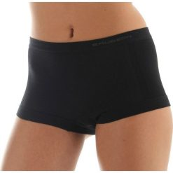 Bokserki damskie: Brubeck Bokserki damskie Comfort Wool czarne r.S (BX10440)