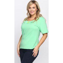 T-shirty damskie: Jasnozielony T-shirt Subtype