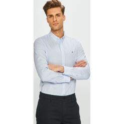 Tommy Hilfiger - Koszula. Szare koszule męskie na spinki TOMMY HILFIGER, l, z bawełny, button down, z długim rękawem. Za 359,90 zł.