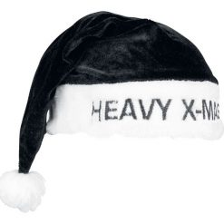 Czapki męskie: Heavy X-Mas Czapka Św. Mikołaja czarny/biały