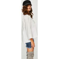 Answear - Koszula Femifesto. Szare koszule damskie ANSWEAR, l, z bawełny, casualowe, z klasycznym kołnierzykiem, z długim rękawem. W wyprzedaży za 139,90 zł.