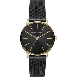 Biżuteria i zegarki damskie: Armani Exchange Zegarek black