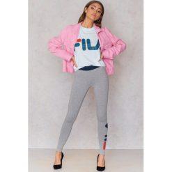 FILA Legginsy Imelda - Grey. Szare legginsy we wzory marki Fila, s, z bawełny. W wyprzedaży za 55,19 zł.