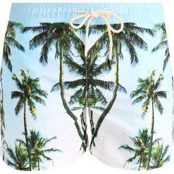 Oas Szorty kąpielowe palm tree. Niebieskie szorty męskie Oas, z materiału. W wyprzedaży za 239,20 zł.