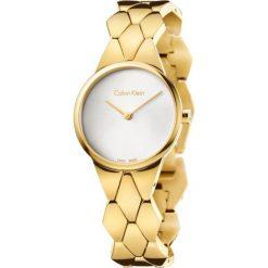 ZEGAREK CALVIN KLEIN LADY SNAKE K6E23546. Szare zegarki damskie marki Calvin Klein, szklane. Za 1549,00 zł.
