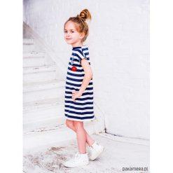 Sukienki dziewczęce: Sukienka bawełniana, dziewczęca BALTICA LOOK