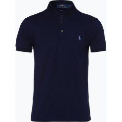 Polo Ralph Lauren - Męska koszulka polo, niebieski. Niebieskie koszulki polo Polo Ralph Lauren, l, z haftami, z bawełny. Za 349,95 zł.