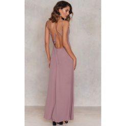 Długie sukienki: Glamorous Plisowana sukienka - Purple