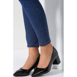 Buty ślubne damskie: Czarne Czółenka Ladybird