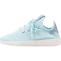 Adidas Originals PW TENNIS HU Tenisówki i Trampki ice blue/footwear white. Niebieskie tenisówki męskie adidas Originals, z materiału. W wyprzedaży za 213,85 zł.