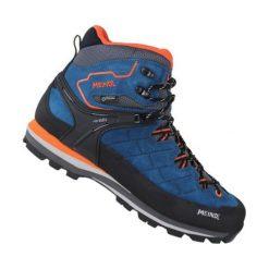 Buty trekkingowe męskie: MEINDL Buty Litepeak GTX r. 45 niebiesko-czarno-pomarańczowe (3928)