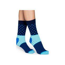 Skarpetki męskie: Skarpetki Happy Socks Stripe & Stripe Sock SD01-066