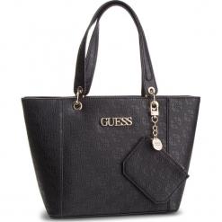 Torebka GUESS - HWSH6 69123 BLA. Czarne torebki klasyczne damskie marki Guess, z aplikacjami, ze skóry ekologicznej. Za 629,00 zł.