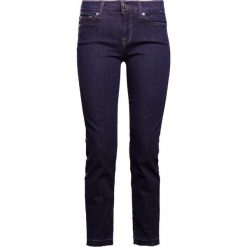 7 for all mankind MID RISE ROXANNE UNROLLED Jeansy Slim Fit raw indigo. Niebieskie jeansy damskie 7 for all mankind, z bawełny. Za 799,00 zł.