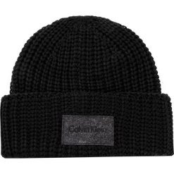 Czapki męskie: Czapka męska CALVIN KLEIN BLACK LABEL - Ingmar Hat K50K503236 001