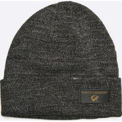 Tokyo Laundry - Czapka. Czarne czapki zimowe męskie Tokyo Laundry, na zimę, z dzianiny. W wyprzedaży za 24,90 zł.