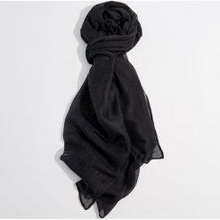 Chustka z brokatowym połyskiem - Czarny. Czarne chusty damskie Mohito. Za 39,99 zł.