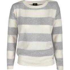 Swetry klasyczne damskie: Sweter BOGNER LEAH Biały|Print|Szary