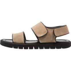 Sandały męskie skórzane: Antony Morato Sandały tan