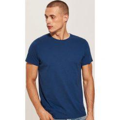 T-shirt basic - Niebieski. Niebieskie t-shirty męskie marki House, l. Za 25,99 zł.