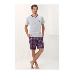 Piżamy męskie: Piżama Gabe 755 Szara