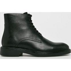 Vagabond - Buty Alex M. Czarne buty wizytowe męskie marki Vagabond, z gumy, na sznurówki. Za 649,90 zł.