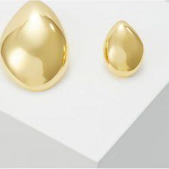 Eshvi Kolczyki goldcoloured. Żółte kolczyki damskie Eshvi. Za 459,00 zł.
