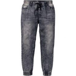 Dżinsy bez zamka w talii Slim Fit Straight bonprix szary denim. Niebieskie jeansy męskie relaxed fit marki House, z jeansu. Za 59,99 zł.