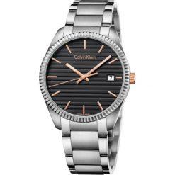 ZEGAREK CALVIN KLEIN Alliance K5R31B41. Czarne zegarki męskie Calvin Klein, szklane. Za 1219,00 zł.