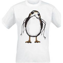 T-shirty męskie z nadrukiem: Star Wars Episode 8 – Die letzten Jedi – Big Porg T-Shirt biały