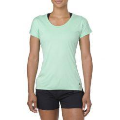 Asics Koszulka damska Capsleeve  zielona r.  S (154541 4118). Niebieskie bluzki damskie marki Asics, m, z elastanu. Za 128,88 zł.