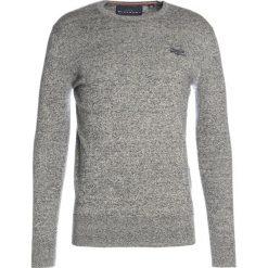 Swetry klasyczne męskie: Superdry ORANGE LABEL CREW Sweter surface blue grit