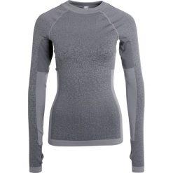 Adidas Performance Bluzka z długim rękawem black/core heather. Szare bluzki asymetryczne adidas Performance, xl, z elastanu, z długim rękawem. W wyprzedaży za 164,45 zł.