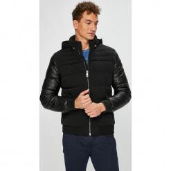 Guess Jeans - Kurtka. Czarne kurtki męskie jeansowe marki Engine, xxl, z aplikacjami, klasyczne. Za 899,90 zł.