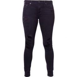 Boyfriendy damskie: AG Jeans Jeansy Slim Fit black denim