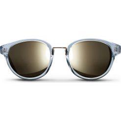 """Okulary przeciwsłoneczne damskie: Okulary przeciwsłoneczne """"Crystal Nicki"""" w kolorze biało-brązowym"""