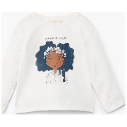 Bluzki dziewczęce bawełniane: Mango Kids - Bluzka dziecięca Dolls 80-104 cm
