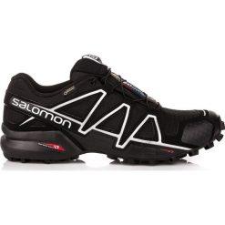 Salomon Buty męskie Speedcross 4 GTX Black/Black r. 42 2/3 (383181). Szare halówki męskie marki Salomon, z gore-texu, na sznurówki, outdoorowe, gore-tex. Za 699,00 zł.