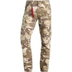 Spodnie męskie: Alpha Industries AGENT  Bojówki desert camo