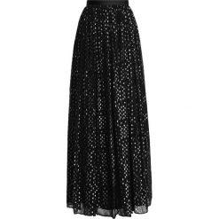 Długie spódnice: Needle & Thread Długa spódnica washed black