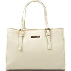 Torebki klasyczne damskie: Skórzana torebka w kolorze beżowym – (S)31 x (W)22 x (G)10 cm