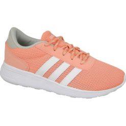 Buty sportowe damskie: Adidas Buty sportowe damskie Lite Racer W  pomarańczowe r. 37 1/3 (BB9837)
