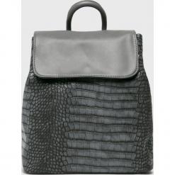 Answear - Plecak. Szare plecaki damskie ANSWEAR, z materiału. W wyprzedaży za 89,90 zł.