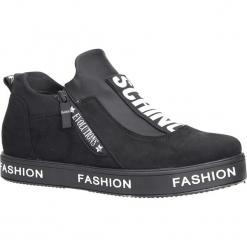 Czarne buty sportowe sneakersy Casu PB-2. Czerwone buty sportowe damskie marki Melissa, z kauczuku. Za 69,99 zł.