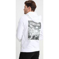 Original Penguin DAISY PRINT HOODIE Bluza z kapturem bright white. Białe bluzy męskie rozpinane Original Penguin, m, z bawełny, z kapturem. Za 379,00 zł.
