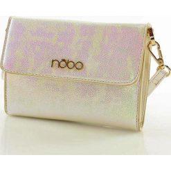 Kopertówki damskie: Charyzmatyczna mini kopertówka - portfel  różowy